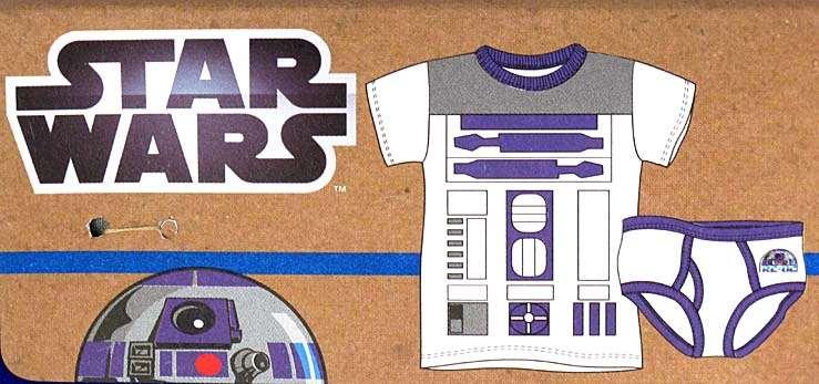 Star Wars R2-D2 Boys Fun-Deez Underwear Set Size 8 - SW Superstore