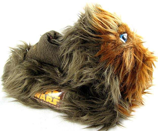 2f5fe00e2755 Star Wars Chewbacca Kids Toddler Slippers. Size 7 8. The base of the slipper  measures about 6 1 2 inches long. Width is about 3 inches. Brand New.