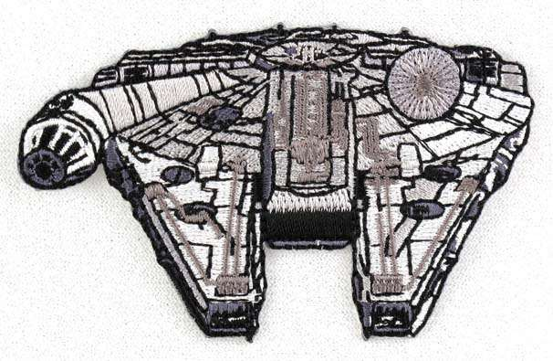 Cabbage patch 2000 millennium falcon
