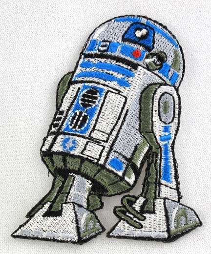 STAR WARS LICENSED R2-D2 CELEBRATION EUROPE LONDON 2016 EMBROIDERED PATCH NEW